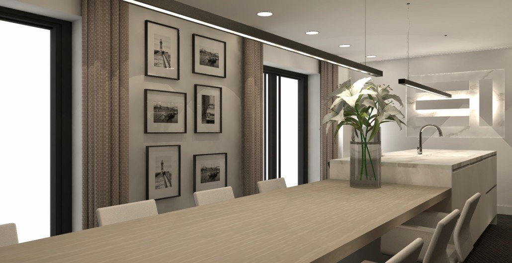 Virtual Reality Keuken : Interieurontwerp showroom keuken en kantoor veen u willemsen