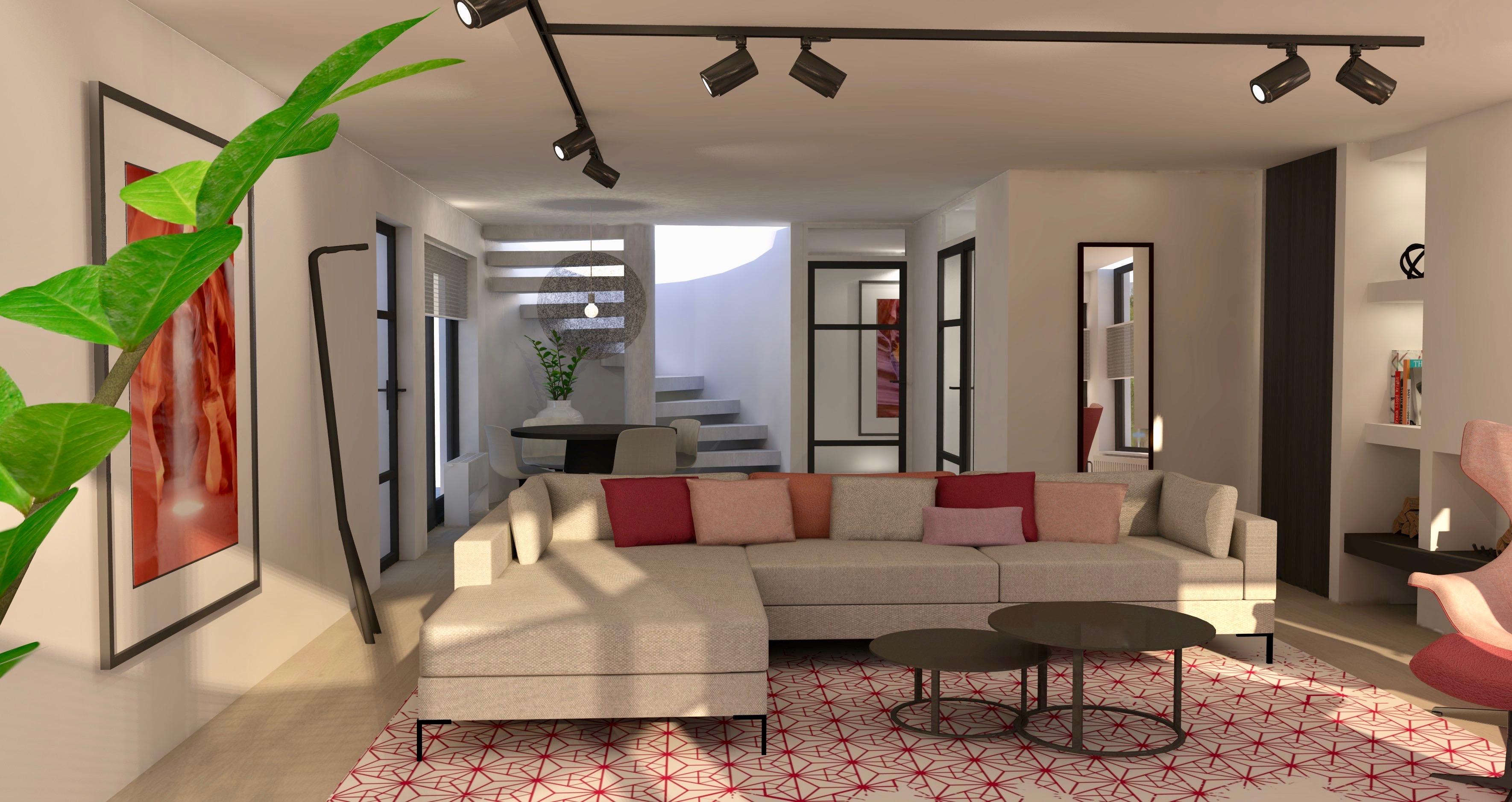 Nieuw project | Restyling woonkamer vrijstaande woning Oosterhout ...
